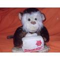 Macaco De Pelúcia Da Parmalat - Não É Da Coca-cola