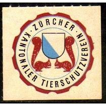 Col 11533 Cinderela Suíça Selo Cantonal Castor