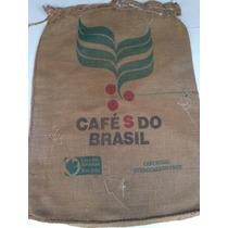 Saco Antigo Café Coleção Modelo Common Code Estopa Juta