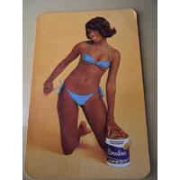 Calendário De Bolso 1976 Tintas Coral