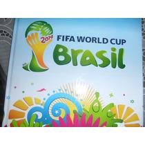 Álbum De Figurinhas Copa Do Mundo De 2014 Capa Dura