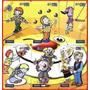 Cartão Telefonico-serie Dia Internacional Do Circo Puzzle