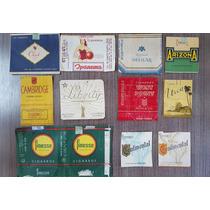 Logotipos De Carteiras De Cigarro Raros Originais Década 60