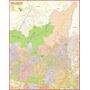 Mapa Gigante Da Zona Norte De São Paulo Tamanho 1,20 X 0,90m