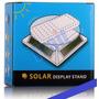 Expositor Giratório Celular/joias A Energia Solar Ou Pilha