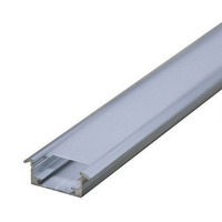 Perfil De Alumínio P/ Fitas De Led Em Móveis Barra 2,50m