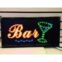 Placa De Led Letreiro Decorativo Colorido (bar) - 110v