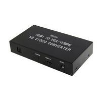 Adaptador Conversor Hdmi Para Vga E Rca Componente Tv Pc Ps3