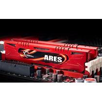 Memória G.skill Ares 16gb (2 X 8gb) Ddr3 1600mhz Vermelha