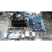 Kit Amd Am3+ Fx4100 X4 3.6ghz Placa Mãe Asus M5a78l-mlx Plus