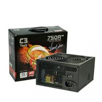 Fonte Modular Atx C3 Tech 750w Reais Gamer Sli E Crossfire