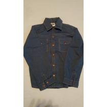 Camisa Tyrol Infantil Manga Longa Azul Marinho Número 7