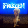 Elza Frozen Disney Rainha Do Gelo Coroa + Brincos + Peruca