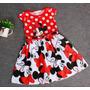 Vestido Infantil Importado Minnie - Diversos Tamanhos
