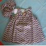Vestido/calcinha, Com Borboleta ( Um + Um ) Tamanho: G- Bebê