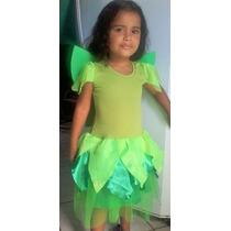 Fantasia Sininho Tinker Bell Infantil