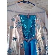Vestido Fantasia Frozen Fever Elsa !