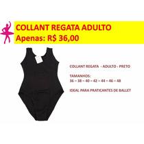 Collant Regata De Helanca - Ballet Adulto - Roupa Ballet