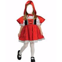 Fantasia Chapeuzinho Vermelho Infantil