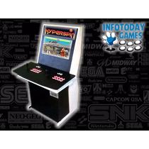Gabinete Arcade Hyperspin 7 Sistemas Fliperama