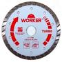 Disco Diamantado Turbo Worker 125mm