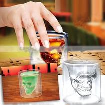 Copo Crystal Caveira - Whiskey, Vodka, Etc