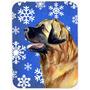 Placa De Estaca Leonberger Inverno Do Feriado Dos Flocos De