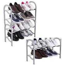 Sapateira Estante Retrátil Porta Sapato 16 Pares Organizador