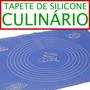 Tapete De Silicone Culinário Antiaderente Oven Mat Promoção