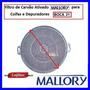 Filtro De Carvao Ativado Redondo Coifas Mallory Boca 21 Cm.