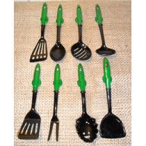 Kit Com 8 Imãs De Geladeira - Utensílios De Cozinha