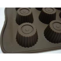 Forma De Silicone Chocolate Alpino Bolos Doces Festas Gelo