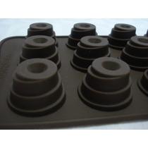 Forma De Silicone Chocolate Bolos Doces Festas Gelo