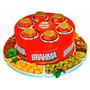 Cooler 3g Brahma + Petisqueira (porta Latas)