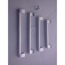 Puxadores Em Aluminio Escovado Designer Moderno 192mm