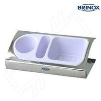 Organizador P/ Pia Inox Bco 25x12x5cm 2113/100 Fnt