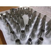 Bico Confeitar Aluminio 52 Peças