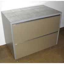 Armario Aparador Cozinha Com Gavetão 95 Cm