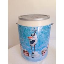 Coolers 12 Latas Personalizados Aniversário Frozen Brindes