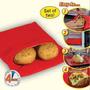 Saco Mágico Assador De Batatas Para Micro Ondas - Muito Util