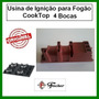 Usina De Ignição Do Fogao Cooktop Fischer 4 Bocas Original