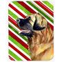 Placa De Estaca Leonberger Candy Cane Feriado Do Natal De Vi
