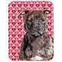 Staffordshire Bull Terrier Staffie Corações E Amor De Vidr