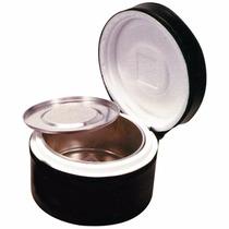 Marmita Térmica Em Alumínio Com Isopor E Capa Tnt Redonda