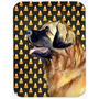 Retrato Leonberger Do Milho De Doces Do Dia Das Bruxas De Me