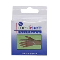 Dedo Bandage - Medisure Stall Plástico - L Primeiros Socorr
