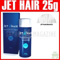 Jet Hair 25g Branco Melhor Queratina Em Pó Maquiagem Capilar