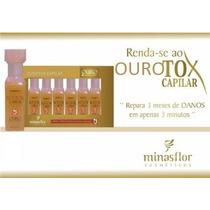 Ourotox Capilar 20ml 6 Ampolas Minas Flor