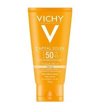 Capital Soleil Toque Seco Cor Fps 50 Vichy Protetor Solar