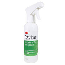 Limpador De Pele Sem Enxague 3m Cavilon Frasco Spray 250 Ml